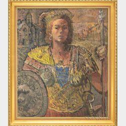 Michael Waterman (American, b. 1947)      Pagan Princess