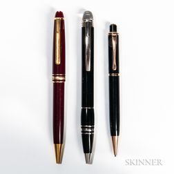 """Starwalker"" and Two Other Montblanc Writing Instruments"