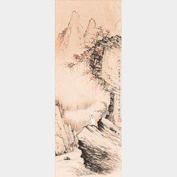 Cai Peizhu (1900-1990), Fall Landscape