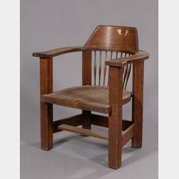 Arts & Crafts Armchair