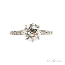 Edwardian Diamond Solitaire