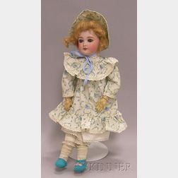 SFBJ French Bisque Headed Doll