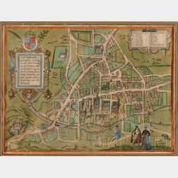 (Maps and Charts, England, Braun, Georg and Hogenberg, Franz)