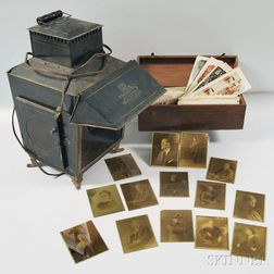 Magic Lantern, Glass Slides, and Stereoscope Cards