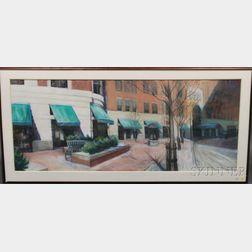 Jean S. Cain (American, 20th Century)      63 Park Plaza
