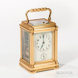 Petite Sonnerie Quarter-striking Carriage Clock