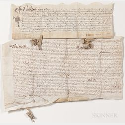 Three English Documents: 1597, 1667, and 1680.