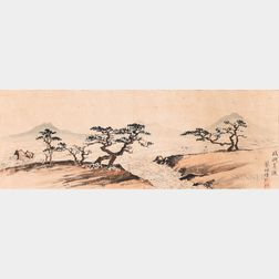 Cai Peizhu (1900-1990), Riverscape