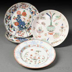 Four Wucai Dishes