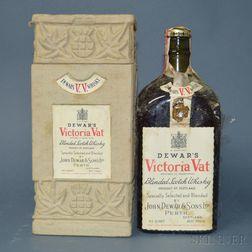 Dewars Victoria Vat, 1 4/5 quart bottle (oc)