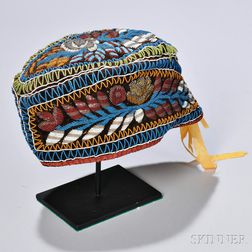 Beaded Glengarry Hat
