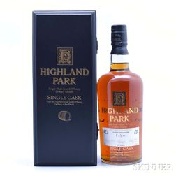 Highland Park Brand Ambassadors Cask 21 Years Old, 1 750ml (owc) bottle