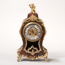 Boulle Japy Freres Mantel Clock