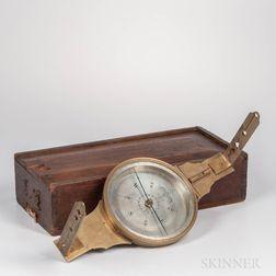 Andrew Meneely Plain Surveyor's Compass