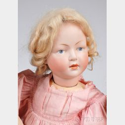 Bisque Head Closed-mouth Character Doll Incised 140
