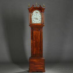 Carved Birch Tall Clock