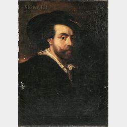 European School, 19th Century      Copy of Self Portrait (1623) by Peter Paul Rubens (Flemish, 1577-1640)