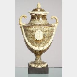Palmer Porphyry Vase and Cover