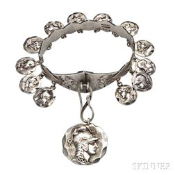 Sterling Silver Bracelet, George W. Shiebler & Co.