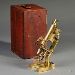 Brass Bausch & Lomb Microscope