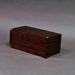 Brass-bound Camphorwood Storage Box