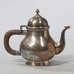 Edward VII Britannia Standard Silver Teapot