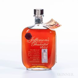 Jeffersons Presidential Select 21 Years Old, 1 750ml bottle