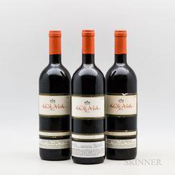 Antinori Solaia 1985, 3 bottles