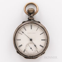 E. Howard & Co. Coin Silver Open-face Watch