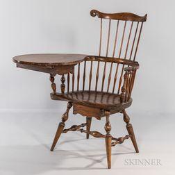 Writing-arm Windsor Chair
