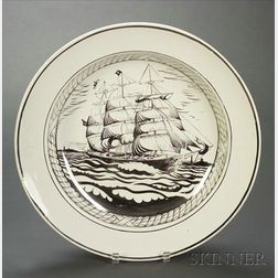 Wedgwood Alfred Powell Decorated Earthenware Deep Dish