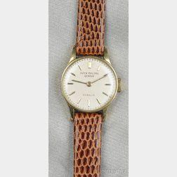 Lady's 18kt Gold Wristwatch, Patek Philippe