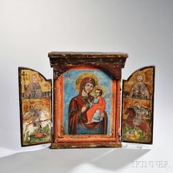 Orthodox Icon Triptych