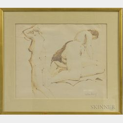 Milton Clark Avery (American, 1885-1965)      Two Studies