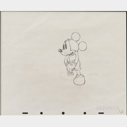 Mickey Mouse Animation Drawing.