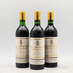 Chateau Pichon Lalande 1983, 3 bottles