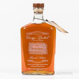 George Dickel Barrel Select, 1 750ml bottle Spirits cannot be shipped. Please see http://bit.ly/sk-spirits for more info.