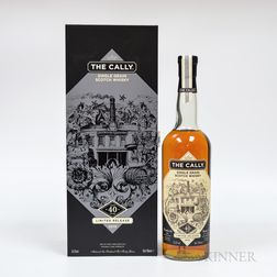 The Cally Single Grain 40 Years Old 1974, 1 70cl bottle (pc)