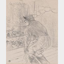 Henri de Toulouse-Lautrec (French, 1864-1901)      Polin