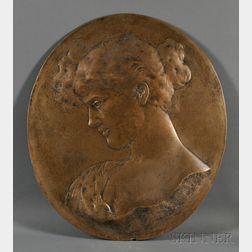 Gustav Natorp (German, b. 1836)      Portrait of a Woman