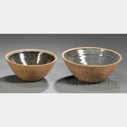 Two Bowls Attributed to Bernard Leach