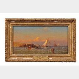 Charles Henry Gifford (Massachusetts, 1839-1904)      Montauk Point