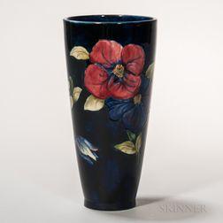 Moorcroft Pottery Clematis Design Vase