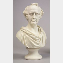Parian Bust Depicting Wendell Phillips