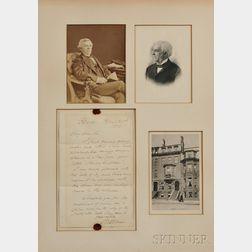 Holmes, Oliver Wendell, Sr. (1809-1894) Autograph Letter Signed, 23 April 1883.