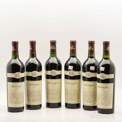 Beringer Reserve, 6 bottles