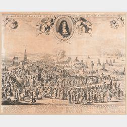 Pieter Hendricksz Schut (Dutch, c. 1619-after 1660), Published by Nicolaes Visscher (Dutch, 1618-1709), Departure from Holland to Engla
