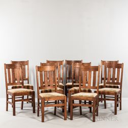 Ten Mission Side Chairs