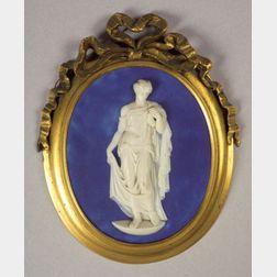 Wedgwood & Bentley Blue Jasper Dip Medallion