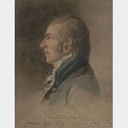 American School, 18th Century    Christopher Babbidge Commodore of the 'Fly' Salem 1782